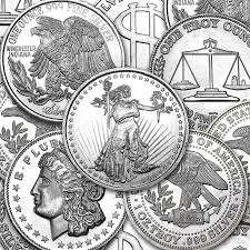 1 oz. Assorted Silver Round .999 Fine (Random Mint)